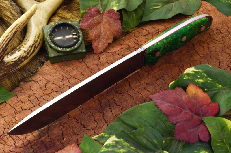 akc denali a2 green and gold elder burl red liners top shot ksf 429.95
