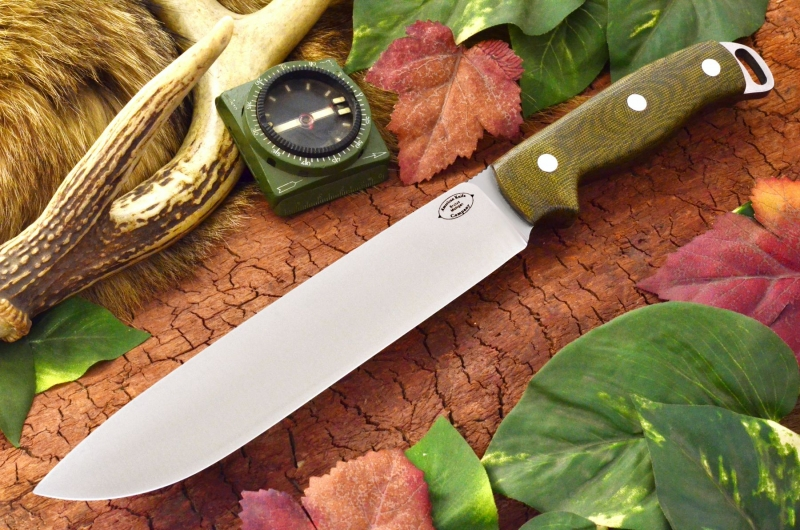 akc denali a2 green canvas micarta 349.95