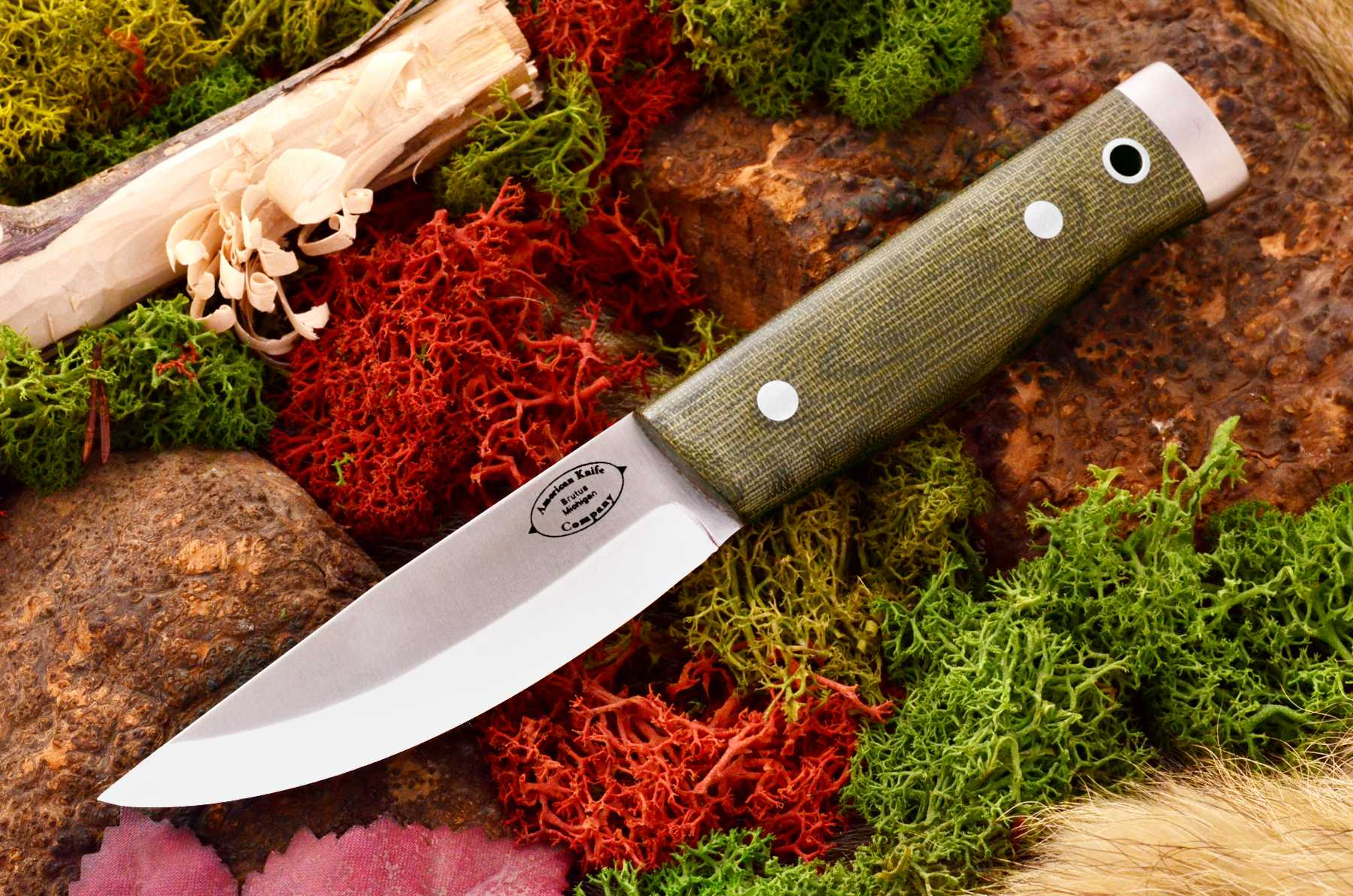 akc forest compact green canvas micarta matte 319.95
