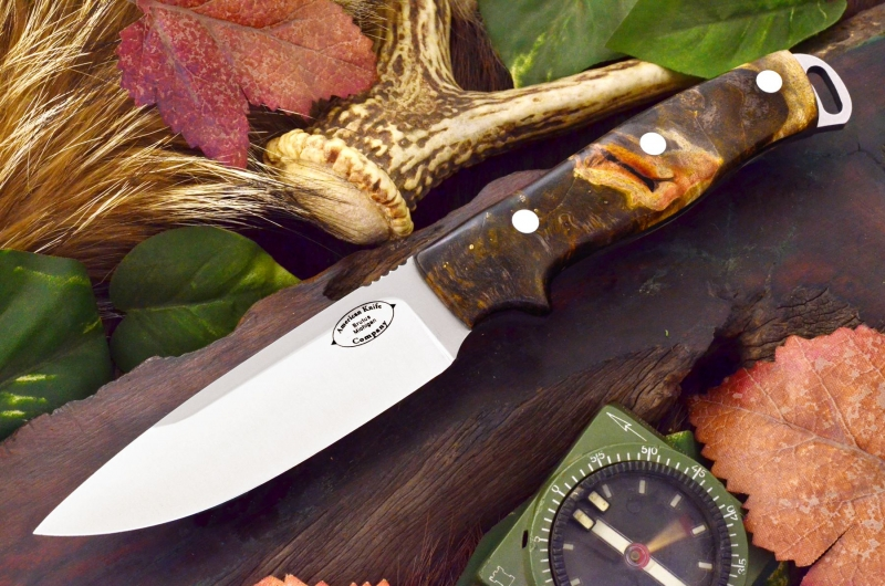 akc shenandoah black, brown and gold maple burl ksf 329.95
