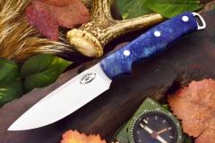 akc shenandoah blue and gold maple burl 1 dlt 329.95